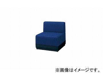 有名な高級ブランド ナイキ/NAIKI ロビーシリーズ100 アームレスチェアー ブルー RC1001S-BL 660×690×700mm, 好評 46212676