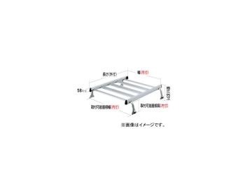ロッキー ルーフキャリア SAシリーズ 4本脚 雨ドイ挟み込みタイプ SA-02H ミツビシ/三菱/MITSUBISHI ブラボー ハイルーフ U10・40系 H1.1~H11.3