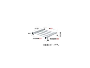 ロッキー ルーフキャリア SAシリーズ 4本脚 雨ドイ挟み込みタイプ SA-05W イスズ/いすゞ/ISUZU エルフ(ルートバン) 標準ルーフ KAK・TLT・WKR系
