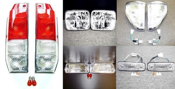 送料無料 トヨタ ランクル プラド 78 ヘッドライト & テールランプ & コーナー & ウィンカー & マーカー セット LJ78G LJ78W ランドクルーザー