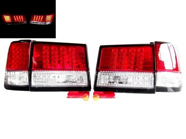 送料無料 日産 エルグランド E50系 リアLEDコンビテールランプ 左右 APE50 APWE50 ATE50 ATWE50 FLGE50 FLWGE50 テールライト ランプ 赤白