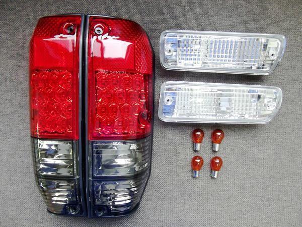ランクルロング 78LEDスモークテール&クリスタルウィンカー SET