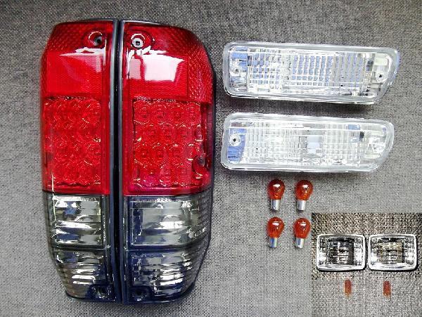 ランクル プラド ロング 78 LEDテール ウインカー マーカー SET