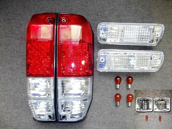 送込ランクルプラドロング78 LEDテールウィンカーマーカーSET