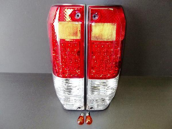 送料無料 ランクル ロング 76 77 LEDクリスタルコンビテールランプ24V車