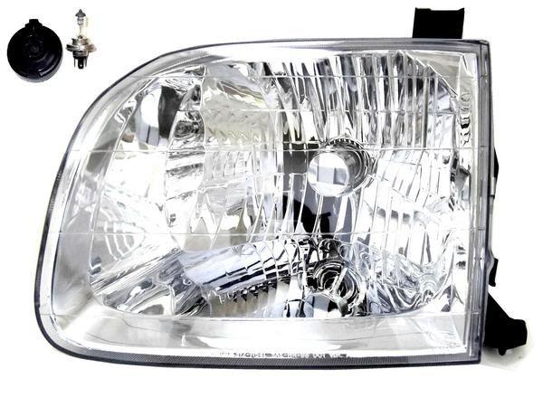 送込 トヨタ セコイア 01-04年 フロント ヘッドライト ライト 左