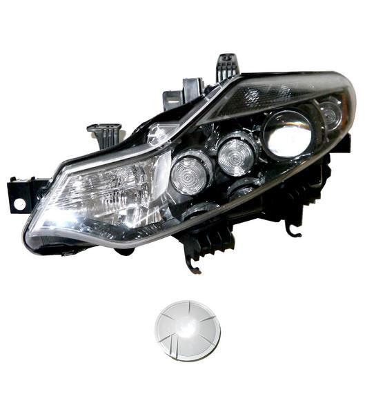 送料無料 日産 ムラーノ 51系 ブラック フロントヘッドライト 左