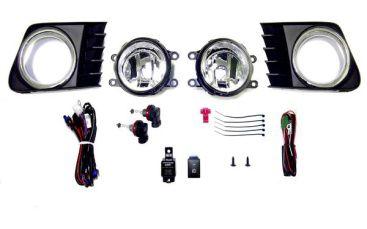 送料無料 トヨタ プリウス アルファ α 40 系 ZVW41W フォグランプ フルセット KIT フォグ ライト ランプ カバー付 スイッチ有 光軸調整可
