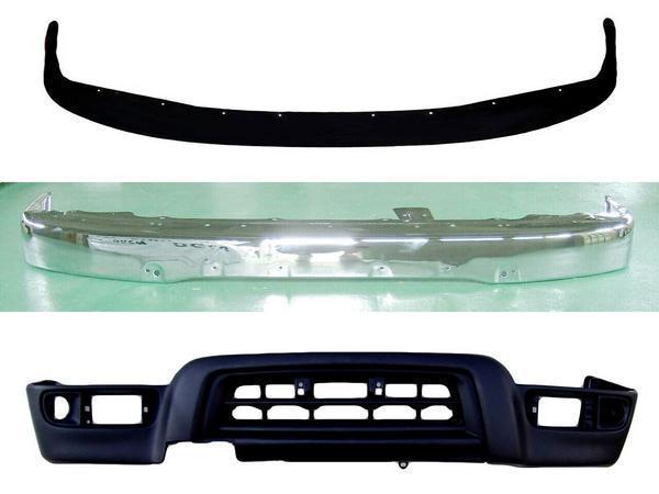 送料無料 大型商品 トヨタ ハイラックスサーフ フロントバンパーSET RZN180W RZN185W VZN180W VZN185W KZN185G KZN185W KDN185W 中期 / 後期 ワイド