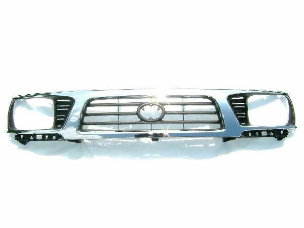 送料無料 大型商品 トヨタ タコマ 95-97y 4WD フロントクローム メッキ グリル