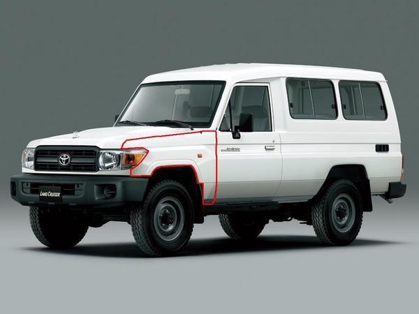 送料無料 大型商品 トヨタ トゥループ キャリア 左フロント フェンダー ナロー