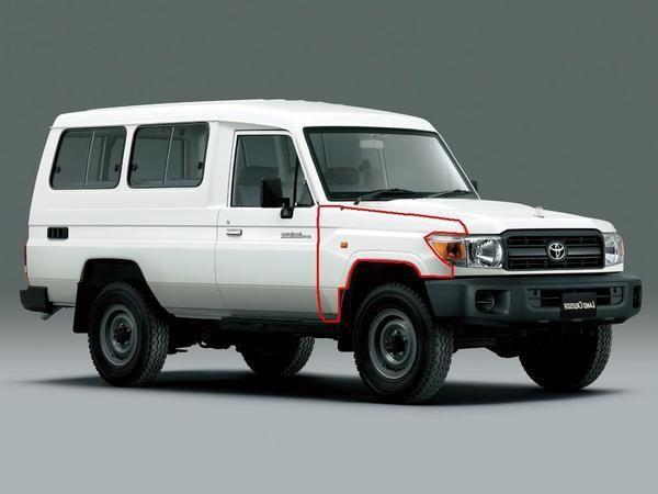 送料無料 大型商品 トヨタ トゥループ キャリア 右フロント フェンダー ナロー