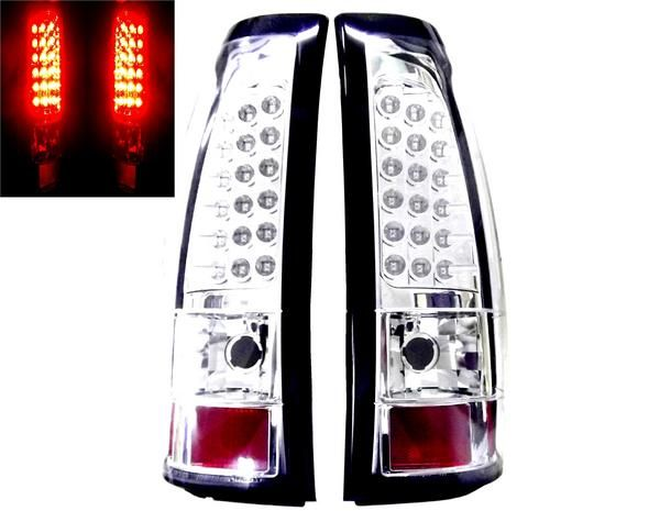 送込 シボレー シルバラード 03y-06y LEDクリスタルテールランプ