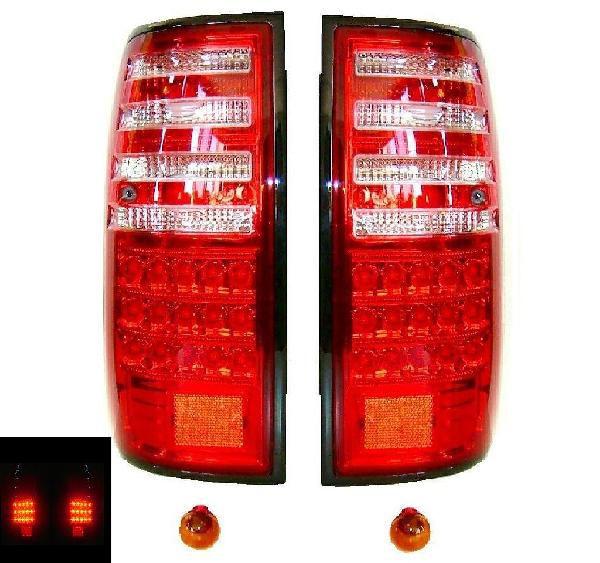 送込 ランクル80 30発LEDクリスタルコンビテールランプ ベンツ風
