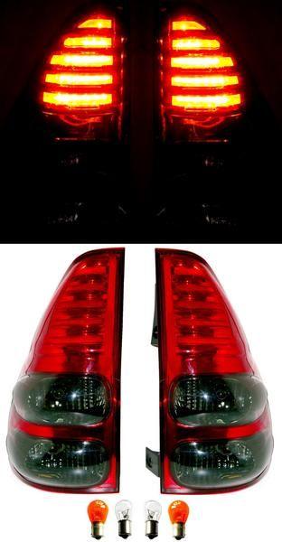 送料込 ランクル プラド GRJ120W スモークコンビLEDテールランプ