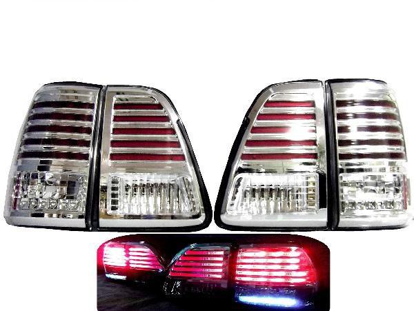 ランクル100 LEDクリスタルテールランプ SET LX470ルック