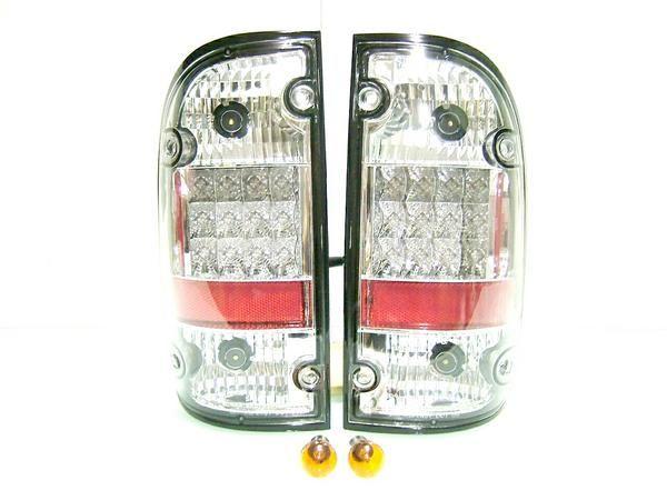 送料無料 送込トヨタ タコマ LEDクリスタル テール ランプ 1995-2004年