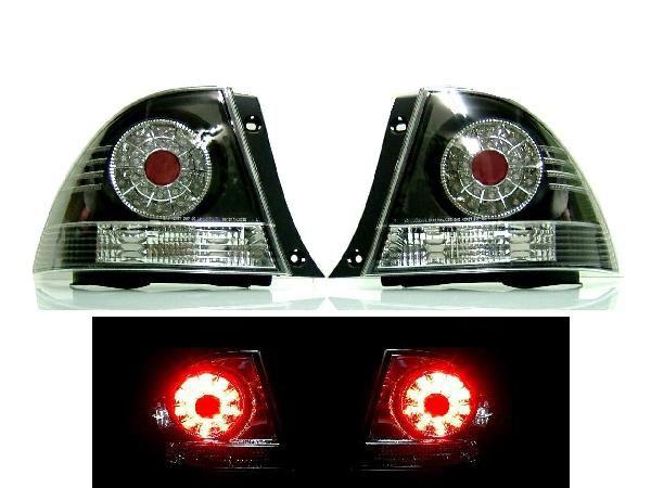 送込 トヨタ アルテッツァ 10系 LED JDMブラック テール ランプ