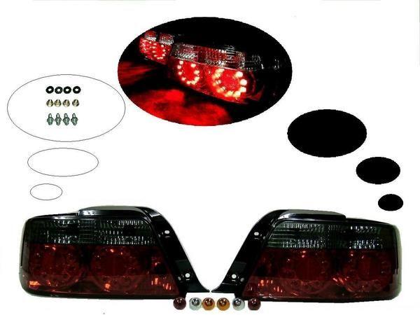 送込 トヨタ チェイサー 100 LEDスモークコンビテール ランプ
