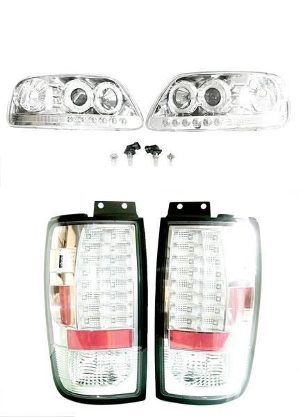 送込 エクスペディション イカリングヘッドライト LEDテール SET