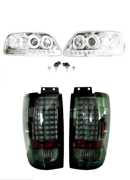 送込 エクスペディション イカリングヘッドライト&LEDテール SET