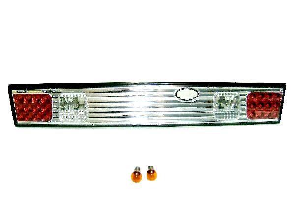 送料無料 日産 シルビア S14 前期 / 後期 インナークローム クリスタル リアガーニッシュ テールランプ 新品 トランクテール テールライト