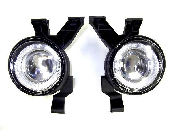 送料無料 VWニュービートル LED プロジェクター イカリング フォグランプ 左右 SET 台湾製