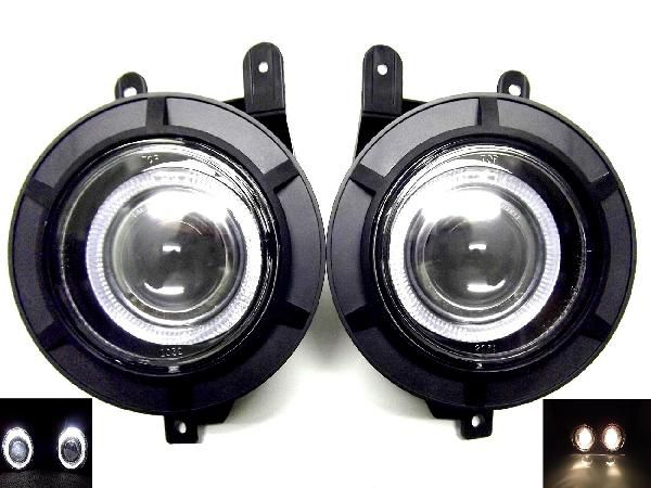 リンカーン ナビゲーター LED イカリング フォグ ランプ