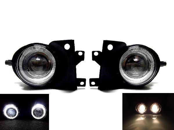 送込BMW E39 5シリーズ後期 00y-02y イカリング フォグ ランプ