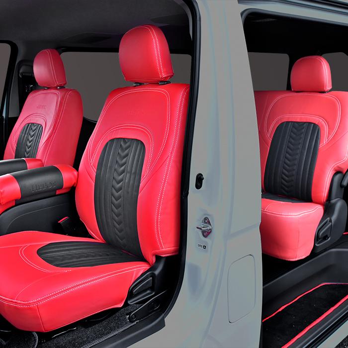 シートカバー ハイエース 200 内装パーツ インテリア 1年保証 HELIOS ヘリオス 200系 運転席 後部座席セット 助手席 シート カバー ショップ スポーツ ユーロ S-GL
