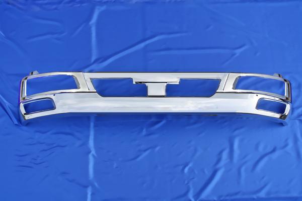 三菱ふそう ベストワン ファイター 標準車用 メッキ フロント バンパー & ヘッド ライト カバー セット