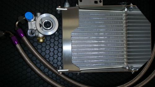 ランデュ-ス BRZ ZC6 オイルクーラーキット