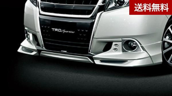 TRD エスクァイア ZRR8#G/ZWR80G フロントスポイラー LEDデイランプ付(素地) ( ~2017.6)  大型商品は個人宅発送不可/法人・西濃運輸支店止