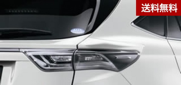 TRD ハリアー[ZSU60W、ZSU65W、AVU65W]( ~2017.6) 全車 リヤクォータースポイラー ブラック(202) |大型商品は個人宅発送不可/法人・西濃運輸支店止