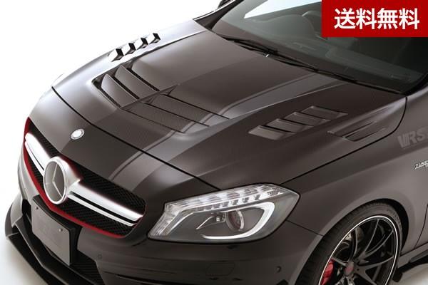 VRS A45 AMG COOLING BONNET HOOD【SYSTEM-2 with side finduct】 VSDC |個人宅発送不可
