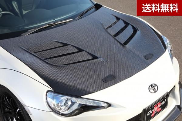 TOYOTA 86(ZN6) COOLING BONNET(専用ダクトカバ-付) カーボン  個人宅発送不可