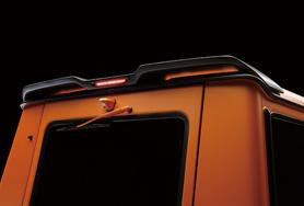 上品な MERCEDES BENZ G-CLASS W463 Sports Line BlackBison Edition ROOF WING 一部CARBON仕上, お食い初め鯛料理の店ザフレア ddd684a3