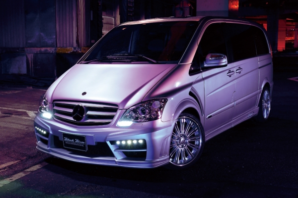 MERCEDES BENZ V-CLASS W639 Sports Line Black Bison Edition For ~'11y ('12y LOOK 変身KIT) XENON HEAD LIGHT LED DAYLIGHT付