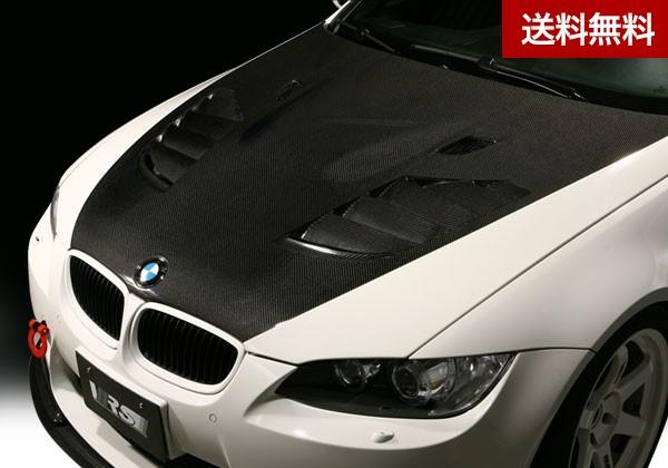VRS E92 M3 Coupe COOLING BONNET 本体FRP+ダクト部CARBON綾織 |個人宅発送不可