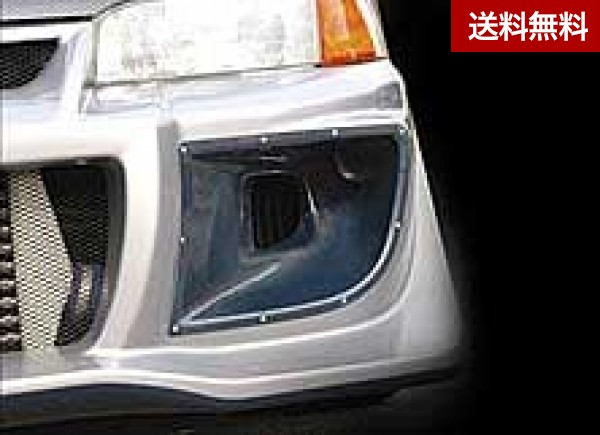 LANCER EVOLUTION IV AIR CLEANER GUIDE FRP製 (VARIS F/B専用品)