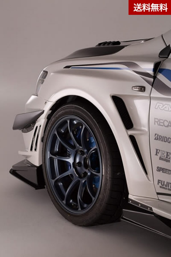 LANCER EVOLUTION X EVO X 2014 Ver.Ultimate FRONT FENDER+EXTENSION COVER for VARIS F/B |個人宅発送不可