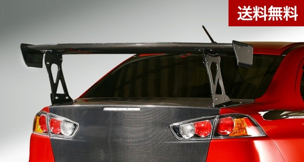 LANCER EVOLUTION 10 CARBON GT-WING for EVO X  カーボン |個人宅発送不可