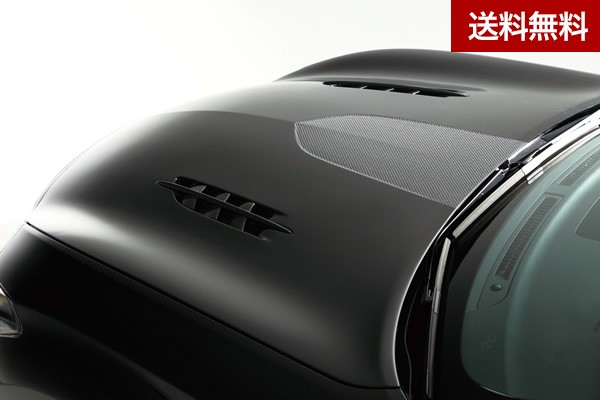 MAGNUM OPUS Y51 FUGA (INFINITY M37)BONNET HOOD(V-SHAPE with Twin Louver Fins) CARBON製 |個人宅発送不可