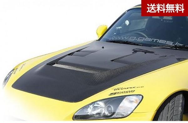 S2000 AP1 COOLING BONNET(専用ダクトカバ-付) FRP  個人宅発送不可