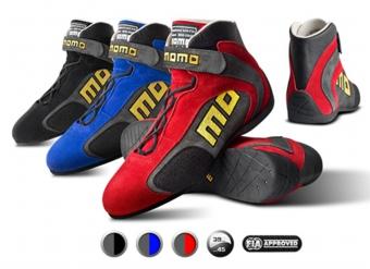 MOMOレーシングブーツ(シューズ)TOP GT(トップ ジーティー)FIA8856-2000公認 レッド