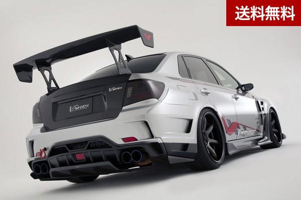 SUBARU WRX STI GVB/GVF WIDE BODY KIT Ver.2 GT-WING for STREET 1600mm HIGH:B 翼端版 II   個人宅発送不可