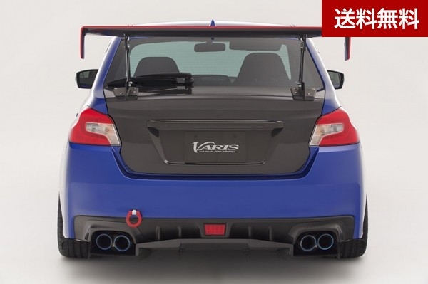 WRX STI&S4 VAB/VAG ARISING II REAR GARNISH CARBON |個人宅発送不可