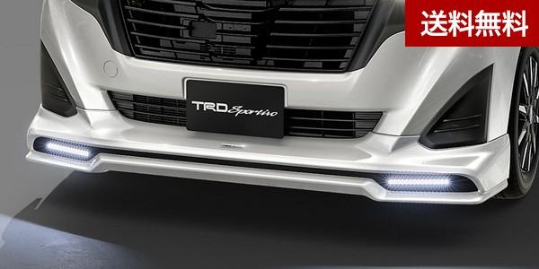 TRD ル-ミ-(ROOMY)フロントスポイラー(LED付) レーザーブルークリスタルシャイン(B82) 塗装品  大型商品は個人宅発送不可/法人・西濃運輸支店止