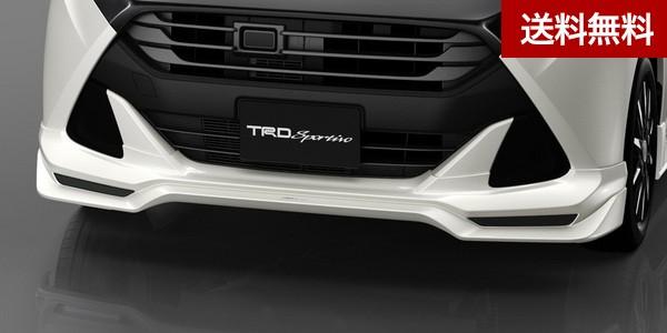 TRD タンク(TANK) フロントスポイラー (LEDなし) ブラックマイカメタリック(X07) 塗装品 |大型商品は個人宅発送不可/法人・西濃運輸支店止