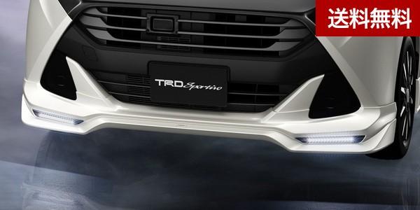 TRD タンク(TANK) フロントスポイラー (LED付) レーザーブルークリスタルシャイン(B82) 塗装品 |大型商品は個人宅発送不可/法人・西濃運輸支店止